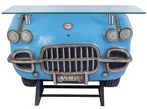 aparador frente de carro corvette blue oldway 93x127x45cm