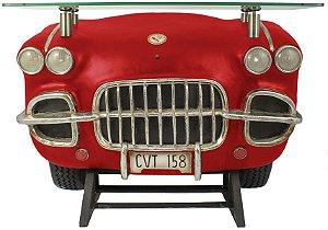 aparador frente de carro corvette red oldway 93 x 127 x 45cm