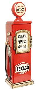 bomba de gasolina texaco porta cd oldway 50 x 18 x 18cm