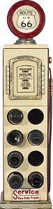 bomba gasolina adega com luz oldway 112x28x22cm