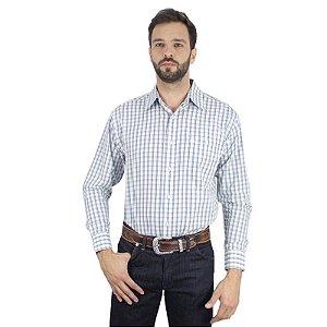 camisa xadrez western classics - wrangler 41739c8x