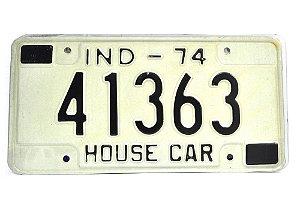 placa de carro decoração eua ind-74 41363 house car