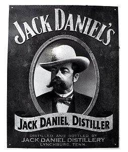placa decoração jack daniel´s distiller