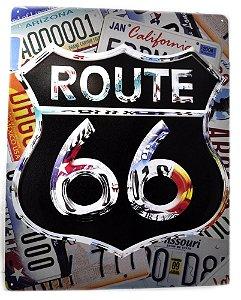 placa decoração jan california 2004 route 66