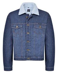jaqueta lã e jeans forrada wrangler nacional - 3199z3d3750