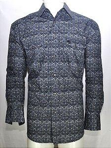 camisa estampada george strait - wrangler 41x024f9