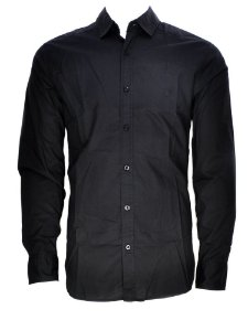 camisa masculina casual wrangler preta 41a05ta98