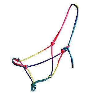 cabresto de nylon arco-iris partrade - 706041