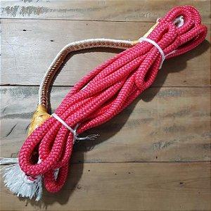Corda de Montaria em Touros Vermelha - Mão Direita
