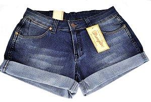 short jeans feminino fatima deep wash wrangler - 698ce2c50