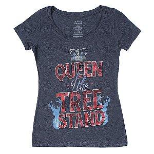 camiseta feminina em glory queen wrangler 72lrwk21v4