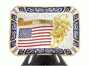 fivela g touro american bull riders 9028f