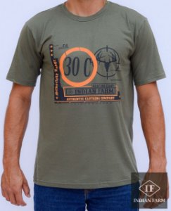 camiseta indian farm verde authemtic clothing company