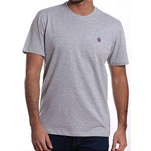 camiseta ox horns cinza basica - 8004