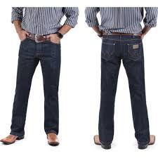 calça wrangler cowboy cut com elastano e elástico anatômico 13M68PW36