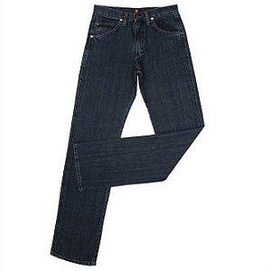 calça wrangler elastano sf escura 31m.48.pw