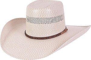 chapéu pralana palha shatung 30x laredo z aba 12 cm - 15566
