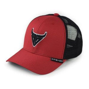 boné gringa´s shooter red snapback - 24127