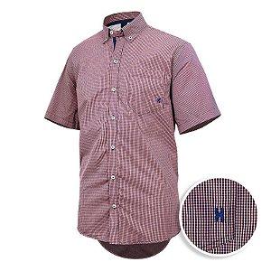 camisa manga curta txc xadrez - 2099