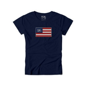 camiseta baby look txc azul marinho - 4018