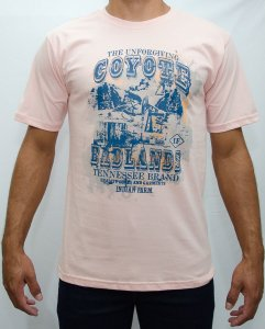 camiseta indian farm salmão coiote