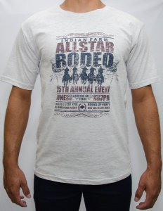 camiseta indian farm mescla allstar rodeo