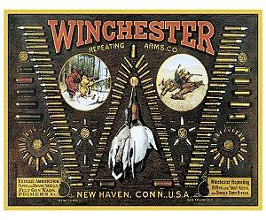 placa met winchester bullet 30360942