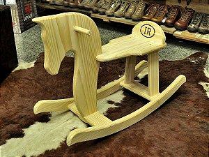 cavalo de balanço madeira