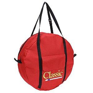 sacola bolsa de corda classic nacional vermelha