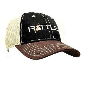 bone ratler importado preto/bege