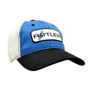bone ratler importado azul/branco 610393
