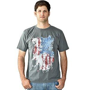 camiseta desert tee cinza wrangler 71569n99840