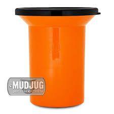 cuspidor mud jug laranja