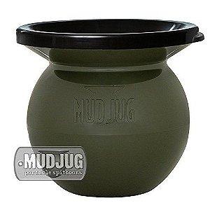 cuspidor mud jug verde redondo