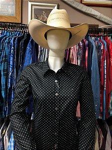 camisa riverton feminina preta cod 050 cor 150
