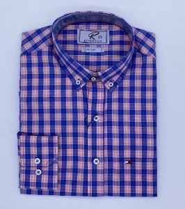 CAMISA RIVERTON ROSA ML 020524 SLIN FIT