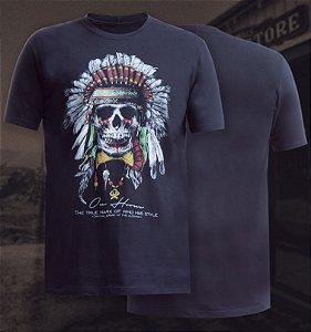 camiseta ox horns preta indio 1104