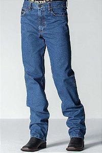 calça jeans masculina tradicional road hiper - texas road