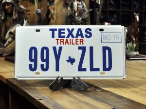 placa texas 99y zld