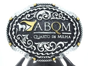 fivela sumetal abqm quarto de milha 10638fj