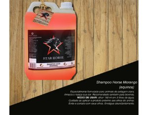 shampoo start horse morango 5l 3123-5
