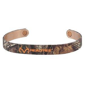 pulseira de cobre camuflada realtree 442 - sabona