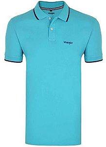 Camiseta polo Azul Turqueza WM9001TU - Wrangler