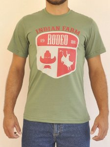Camiseta Verde Rodeo 88 - Indian Farm
