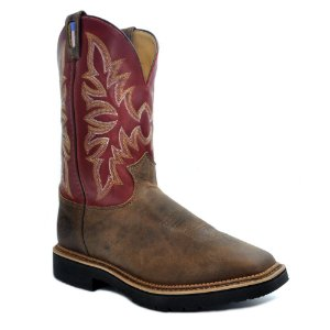 Bota Solado de Borracha Work Boot Dust Cimarron 4528 - Justin