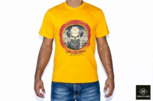 CAMISETA INDIAN FARM AMARELA AMERICAM LEGEND