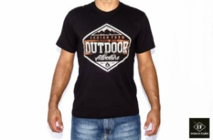 CAMISETA INDIAN FARM PRETA OUTDOOR