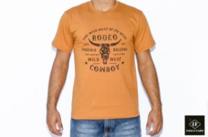 CAMISETA INDIAN FARM MARROM THE WILD WEST