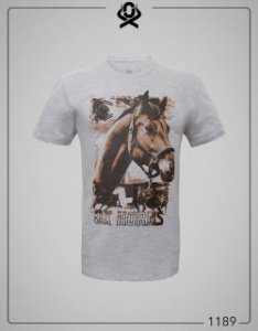 Camiseta Cinza 1189 - Ox Horns