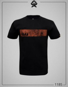 Camiseta Preta 1185 - Ox Horns